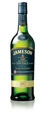 Jameson Rarest Vintage  Reserve Bottle
