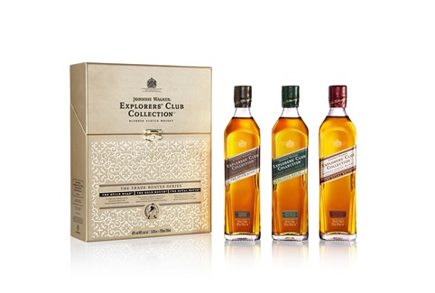 Johnnie Walker Explorers' Club Collection Pack Shot