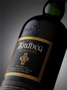 Ardbeg Kildalton bottle