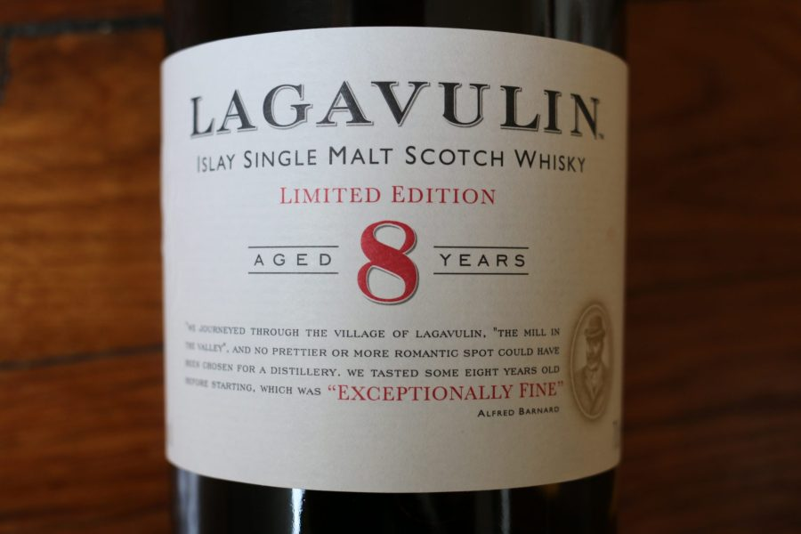 Lagavulin 8 - Label