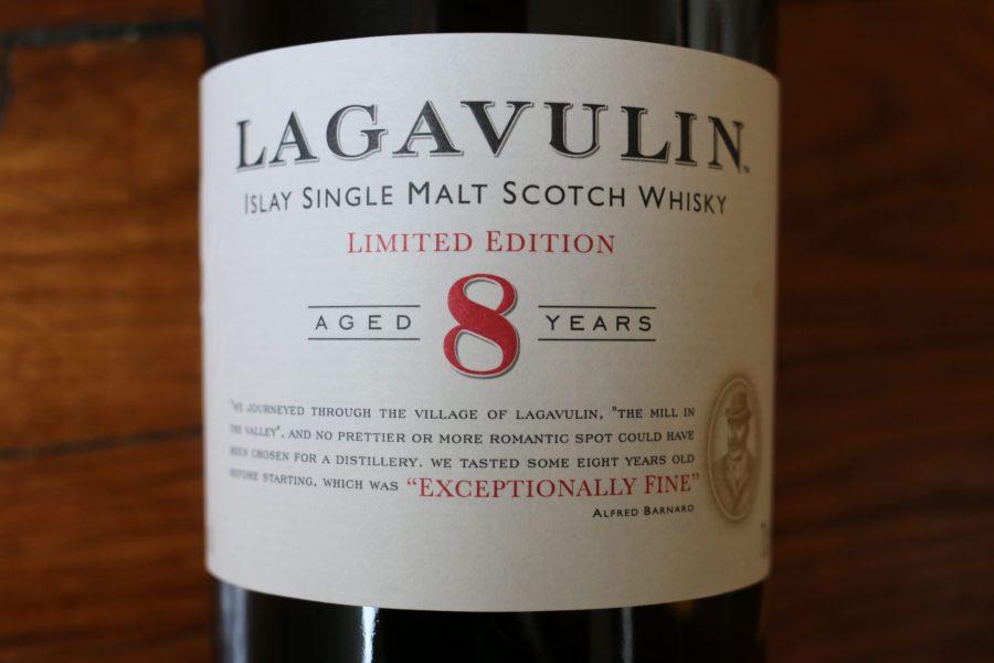 Lagavulin 8 - Label