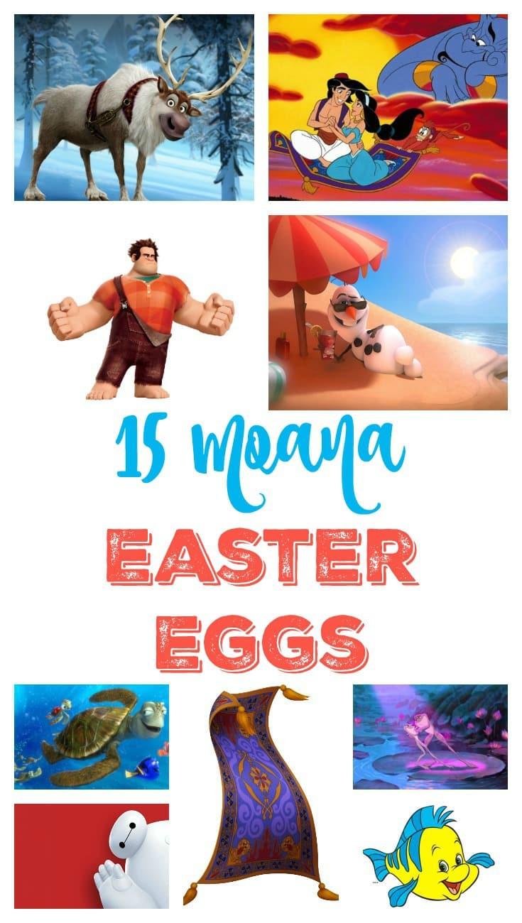 15 Moana Easter Eggs Pin