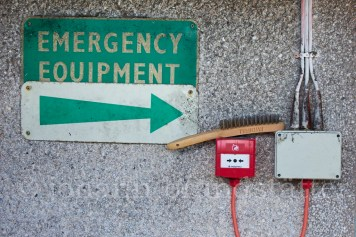 'Emergency Equipment' at the closed Convalmore Distillery