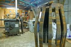 Tomatin Distillery, cooper's workshop