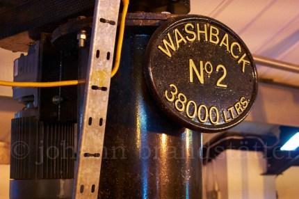 Washback, Auchentoshan Distillery