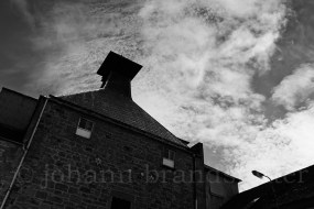The closed Coleburn Distillery