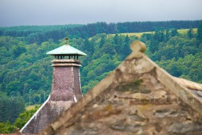 Kiln roof, Aberfeldy Distillery