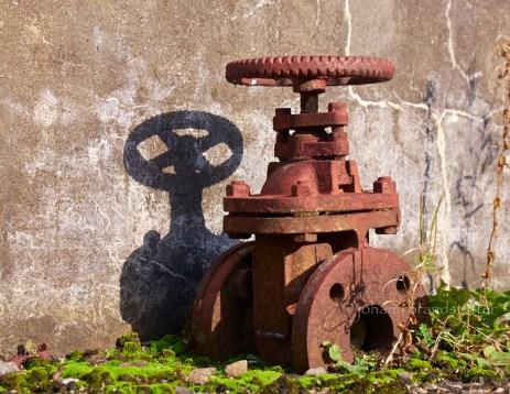 Old valve, Parkmore Distillery