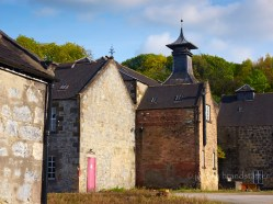 The closed Parkmore Distillery