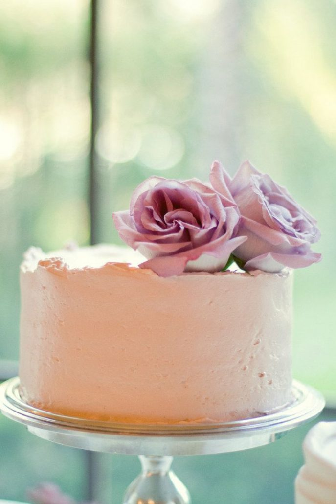 Candy wedding cake simple