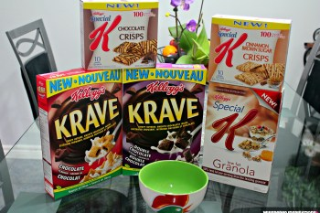 What's New With Kellogg's: Krave Chocolate? No Worries, Kelloggs Can Help!