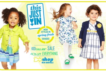 Mark Your Calendars for Old Navy Sale: 40% Off Everything at their Kids & Baby Sale Starting February 7th to 20th! #ONKidtacular
