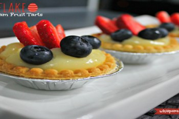Tenderflake: Easter Ham & Cheese Pot Pie with Coconut Cream Fruit Tarts! Win 8 Full Price Coupons to Make Your Own Creations! #BakeItEasy