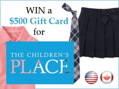 Win Children's Place Gift Card