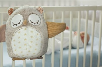 Nighty Night Owl Smart Sensor: A Soft and Plush Friend That Senses and Soothes Your Child at Night. #toys