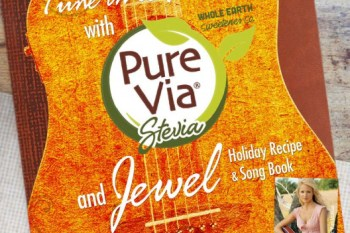 Make Your Holidays Sweeter and Tune In To Pure with Pure Via and Jewel's Holiday Recipe and Song Book!
