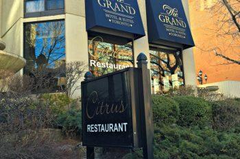 Exquisite Dining at Citrus Restaurant in The Grand Hotel & Suites Toronto. #travel