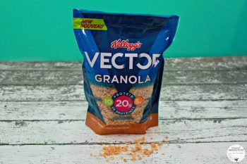 NEW Kellogg's Vector Granola: Fuel Your Summer & Prepare for Back to School Season, Plus Enter to WIN a Prize Pack Too!