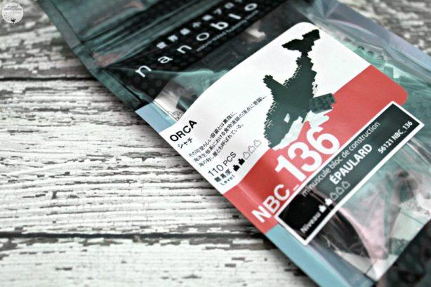 A bag with the Orca nanoblock set.