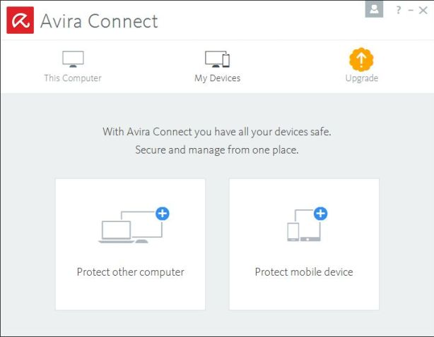 Avira Connect My Devices