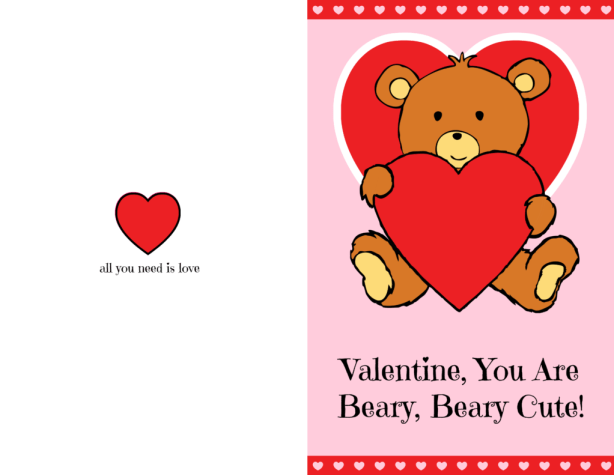Celebrate Valentine's Day with Build-A-Bear + a FREE Beary Cute Valentine's Day Card PRINTABLE!