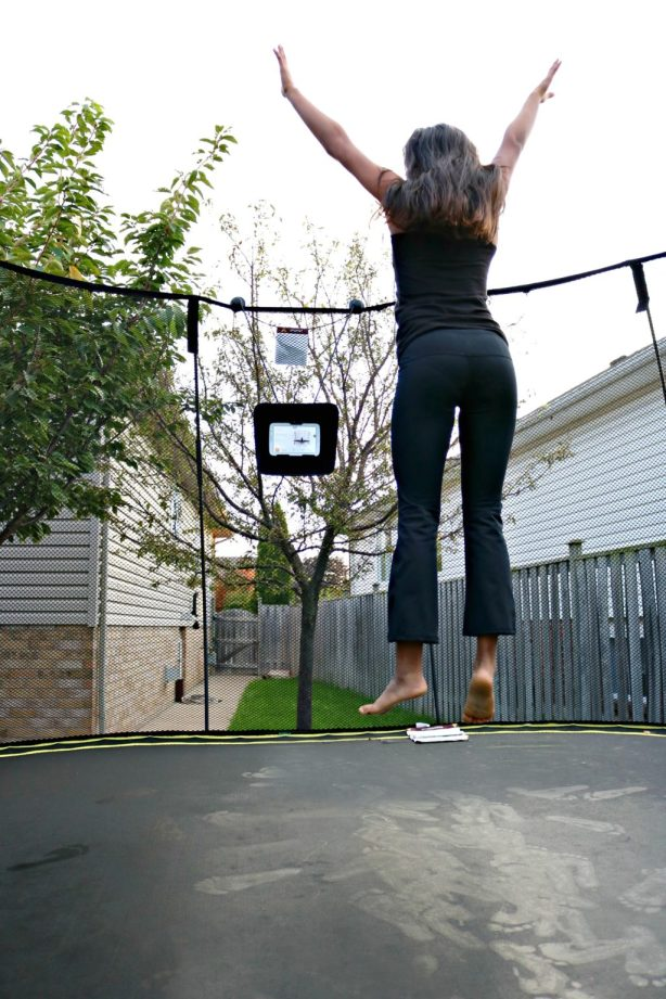 Get Your Kids Excited About Outdoor Play with the Springfree Trampoline tgoma System!