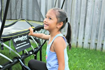 Get Your Kids Excited About Outdoor Play with the Springfree tgoma System!