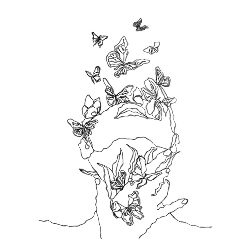 face butterflies1