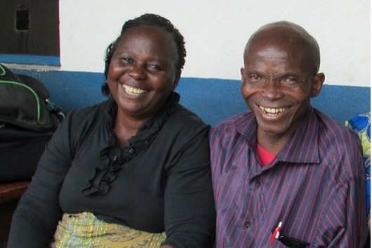 Mama Esther and Pastor Nkudulu