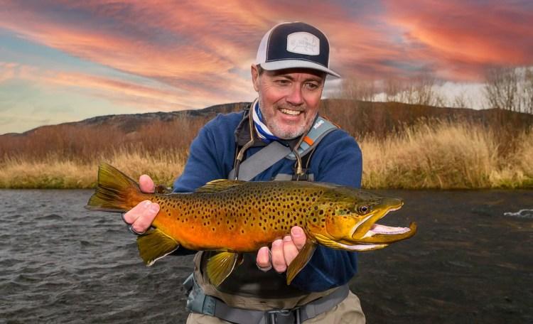 Fly fishing Yampa river