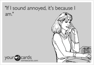 irritated ecard