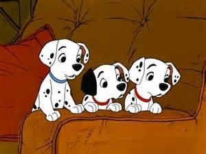 101 dalmatians puppies