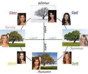 seasonal color wheel
