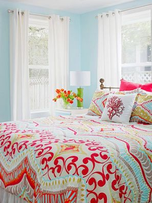 cheery bedroom- bhg