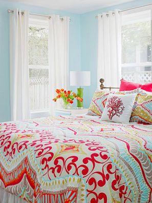 cheery bedroom- bhg