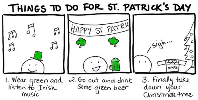 """Special """"St. Patrick's Day Hangover"""" E-dition"""
