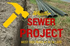 Whistler Sewer Project at Alta Lake