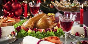 christmas dinner in whistler