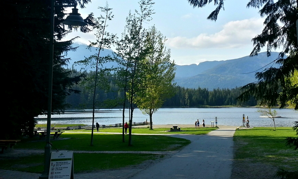 Lost Lake Park and Beach | Beginner Friendly Hikes in Whistler