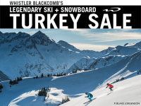 Whistler Blackcomb Turkey Sale 2016