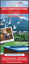 Whistler Accommodation Maps & Guide