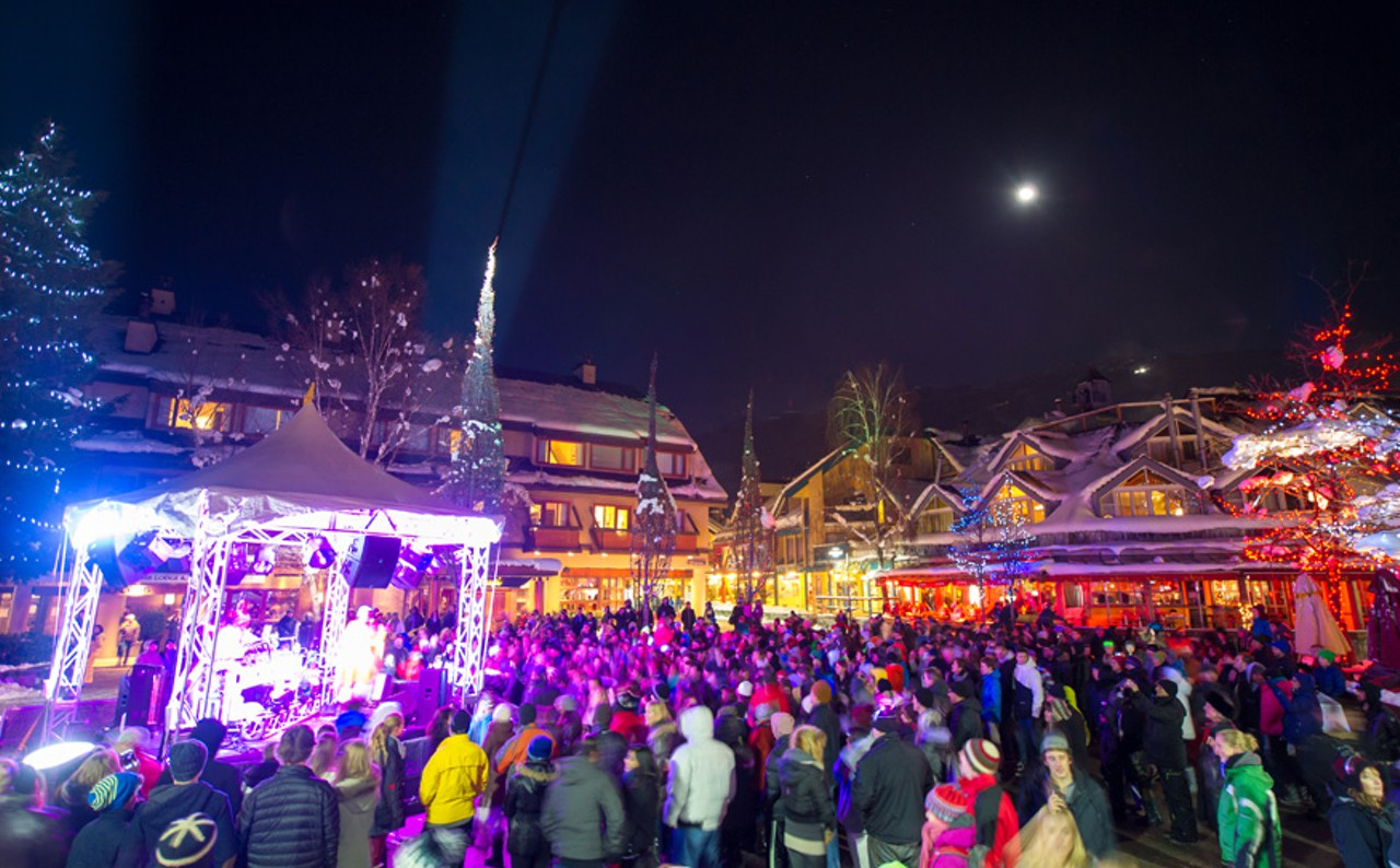 Whistler New Years Lights