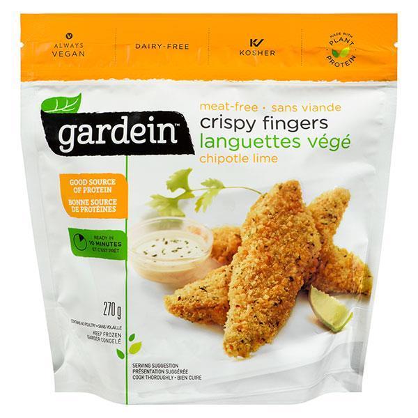 Gardein Crispy Vegetarian Meat Free Fingers Chipotle Lime ...