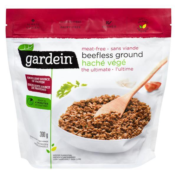 Gardein Meat-free Beefless Vegetarian Ground - 390g ...