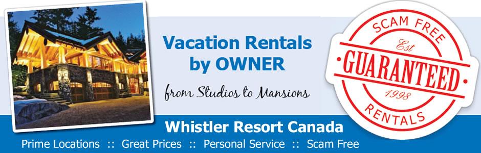 Whistler Vacation Rentals by Owner VRBO ResortAc.com