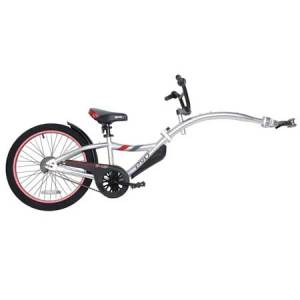 kids rental trail-a-bike