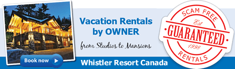 Whistler Vacation Rentals by Owner