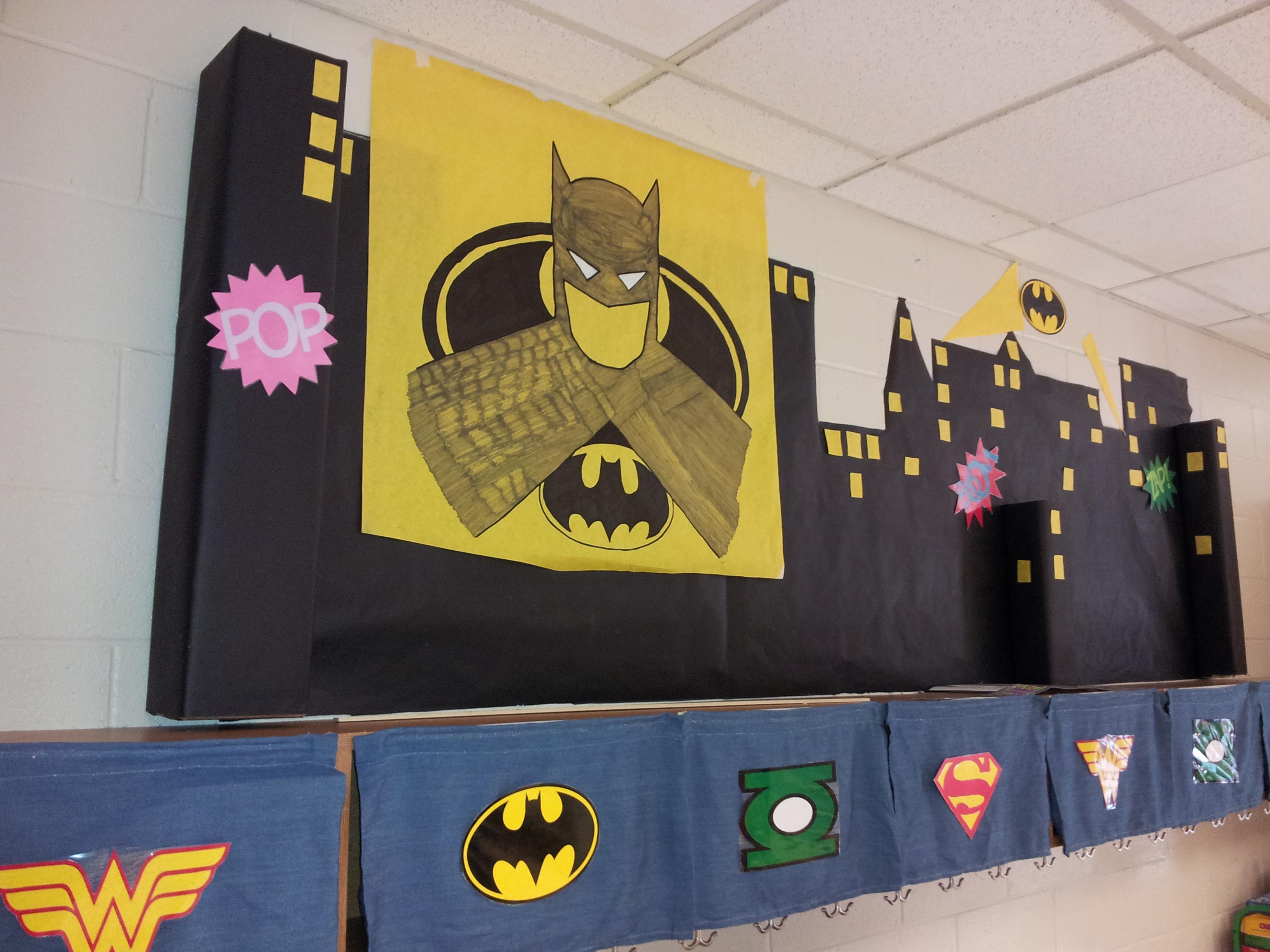 Superhero Themed Class  The Bow Tie Teacher