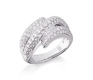 Diamond Pavee Set Ring