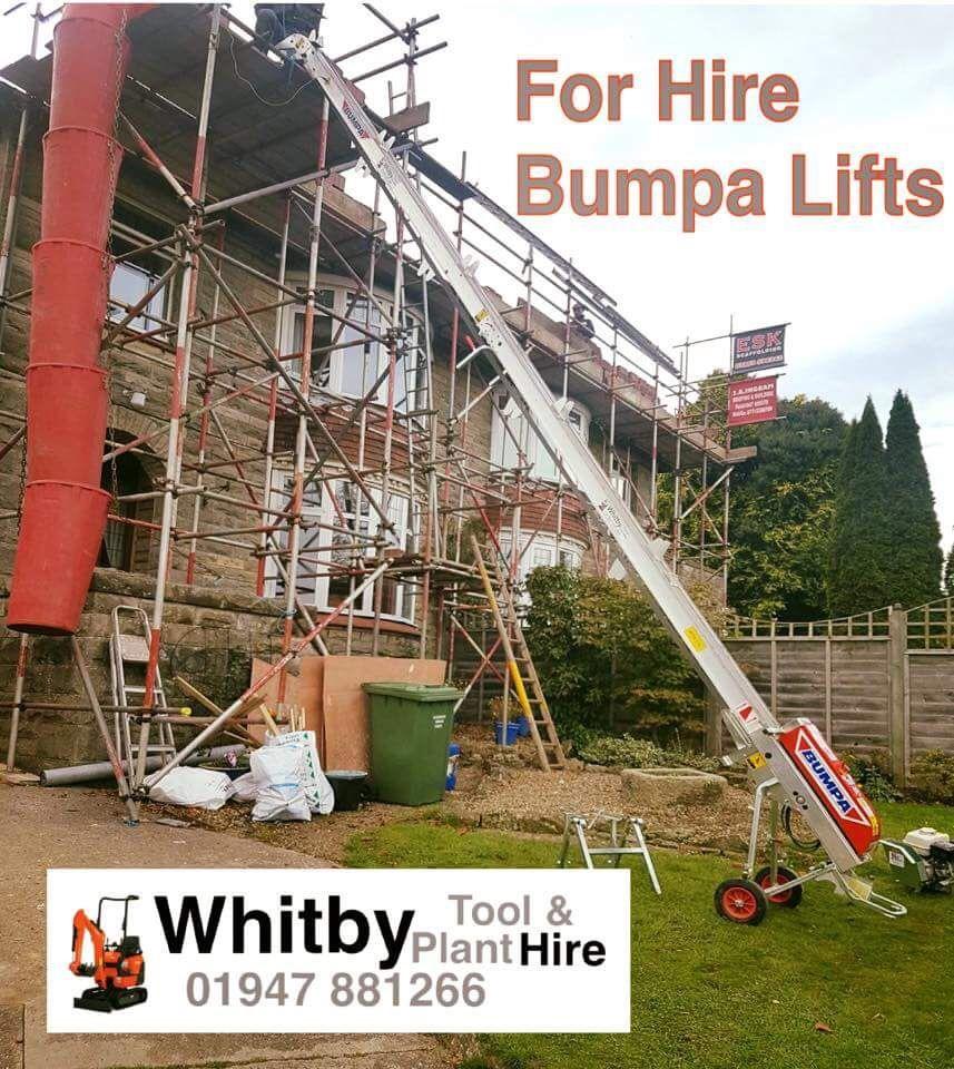Petrol Bumpa Lift - Whitby Tool Hire